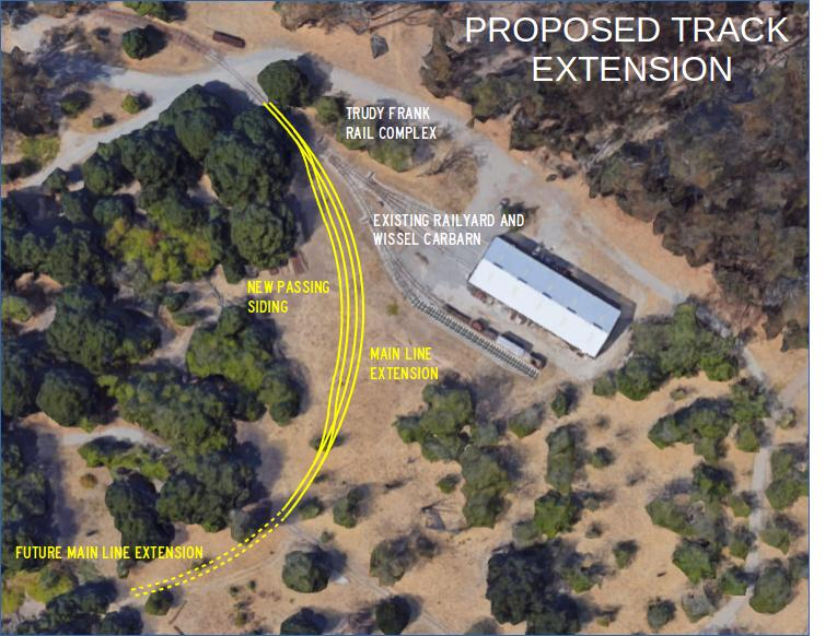 Track extension and passing siding proposal